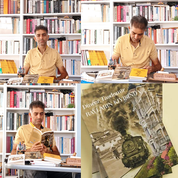 """Dinçer Taşdemir'in yeni kitabı """"RAYLARIN KIYISINDA"""" çıktı.."""
