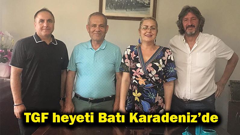 TGF heyeti Batı Karadeniz'de